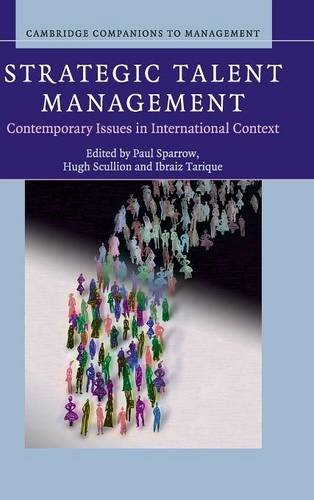 9781107032101: Strategic Talent Management: Contemporary Issues in International Context (Cambridge Companions to Management)