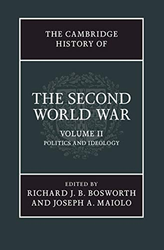 9781107034075: The Cambridge History of the Second World War: Volume 2