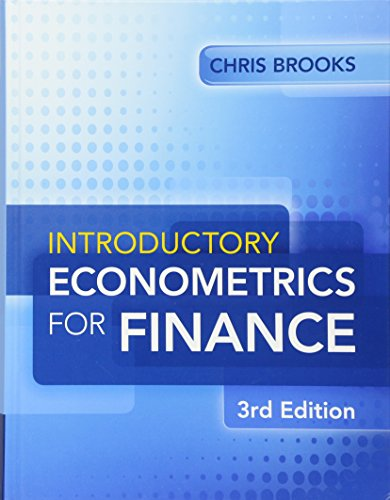 Introductory Econometrics for Finance: Brooks, Chris