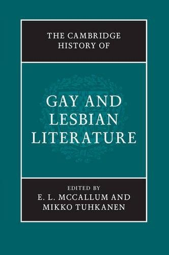 9781107035218: The Cambridge History of Gay and Lesbian Literature