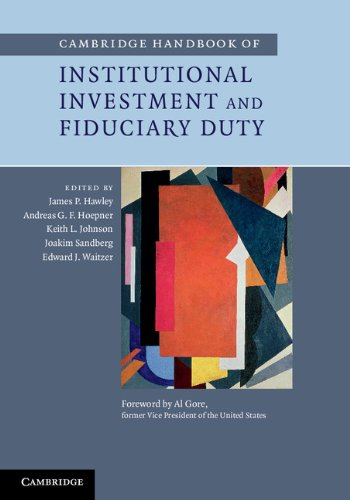 9781107035874: Cambridge Handbook of Institutional Investment and Fiduciary Duty