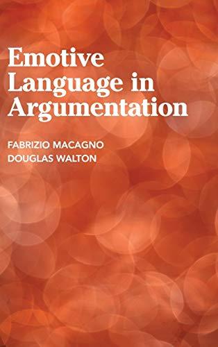 9781107035980: Emotive Language in Argumentation