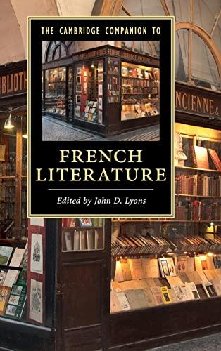 9781107036048: The Cambridge Companion to French Literature (Cambridge Companions to Literature)
