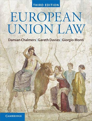 9781107038820: European Union Law: Text and Materials