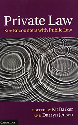 9781107039117: Private Law: Key Encounters with Public Law