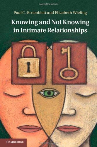 Knowing and Not Knowing in Intimate Relationships (Hardback): Paul C. Rosenblatt, Elizabeth Wieling