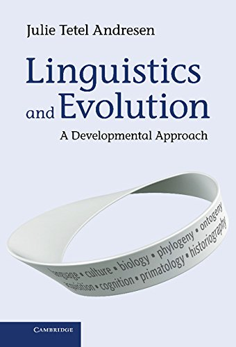 9781107042247: Linguistics and Evolution: A Developmental Approach