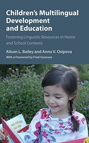 9781107042445: Children's Multilingual Development and Education: Fostering Linguistic Resources in Home and School Contexts