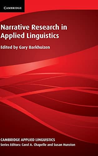 9781107042698: Narrative Research in Applied Linguistics (Cambridge Applied Linguistics)