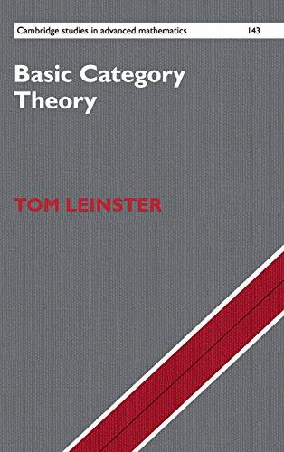 Basic Category Theory (Hardback): Tom Leinster