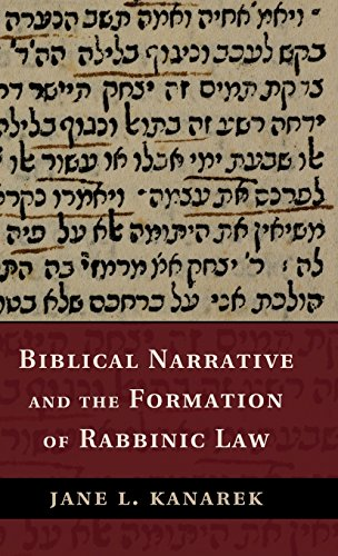 9781107047815: Biblical Narrative and the Formation of Rabbinic Law