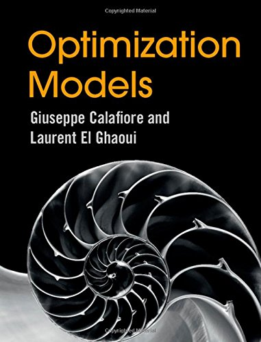 9781107050877: Optimization Models