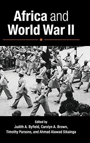 9781107053205: Africa and World War II