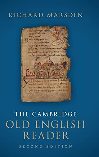 9781107055308: The Cambridge Old English Reader