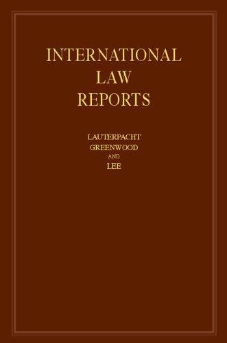 9781107059030: International Law Reports: Volume 163