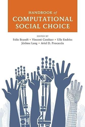 9781107060432: Handbook of Computational Social Choice