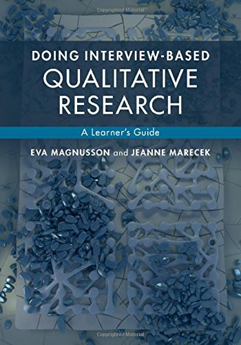 9781107062337: Doing Interview-based Qualitative Research: A Learner's Guide