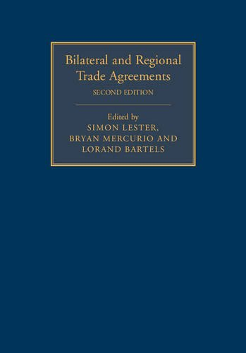 9781107063815: Bilateral and Regional Trade Agreements 2 Volume Set