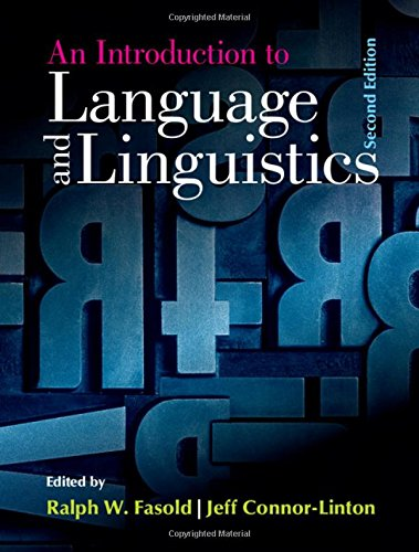 9781107070646: An Introduction to Language and Linguistics