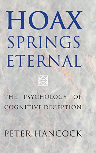 9781107071681: Hoax Springs Eternal: The Psychology of Cognitive Deception