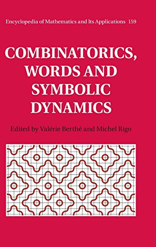 9781107077027: Combinatorics, Words and Symbolic Dynamics