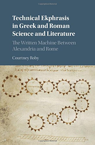 9781107077300: Technical Ekphrasis in Greek and Roman Science and Literature: The Written Machine between Alexandria and Rome
