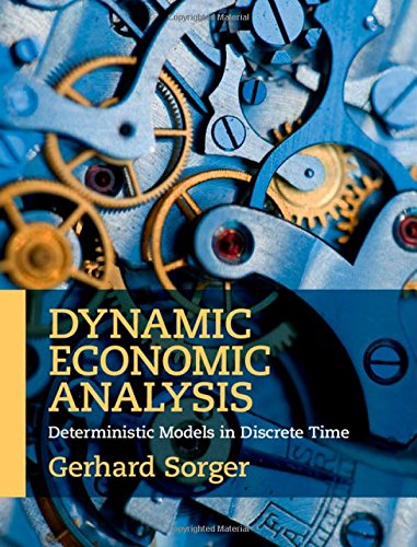 9781107083295: Dynamic Economic Analysis: Deterministic Models in Discrete Time