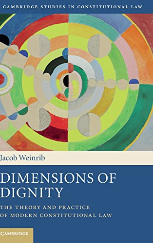 9781107084285: Dimensions of Dignity: The Theory and Practice of Modern Constitutional Law (Cambridge Studies in Constitutional Law)