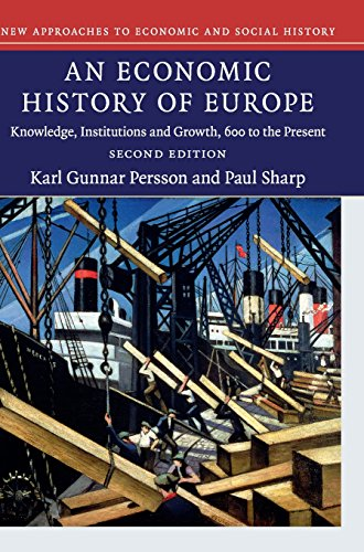 9781107095564: An Economic History of Europe: Knowledge, Institutions and Growth, 600 to the Present (New Approaches to Economic and Social History)
