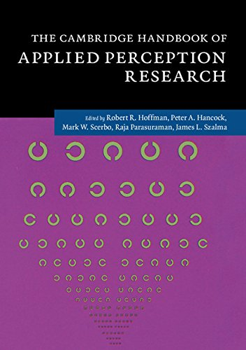 Cambridge Handbook of Applied Perception Research 2 Volume Hardback Set (Hardcover): Robert R ...