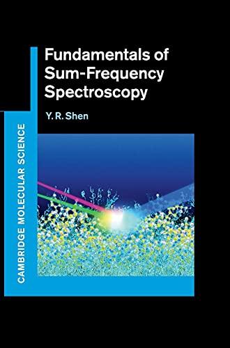 9781107098848: Fundamentals of Sum-Frequency Spectroscopy (Cambridge Molecular Science)
