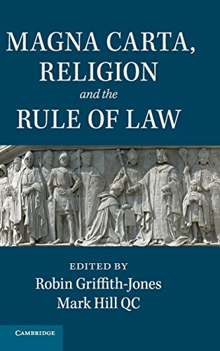 9781107100190: Magna Carta, Religion and the Rule of Law