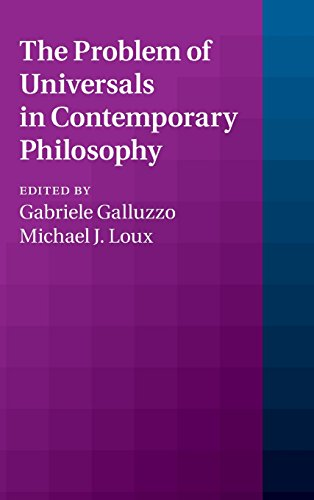 The Problem of Universals in Contemporary Philosophy: Cambridge University Press