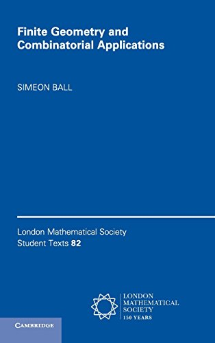 9781107107991: Finite Geometry and Combinatorial Applications (London Mathematical Society Student Texts)