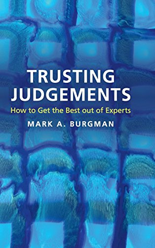 9781107112087: Trusting Judgements: How to Get the Best out of Experts