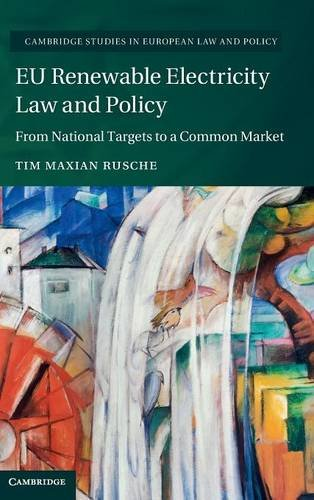 9781107112933: EU Renewable Electricity Law and Policy: From National Targets to a Common Market (Cambridge Studies in European Law and Policy)