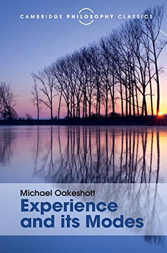 9781107113589: Experience and its Modes (Cambridge Philosophy Classics)