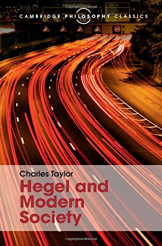 9781107113671: Hegel and Modern Society (Cambridge Philosophy Classics)