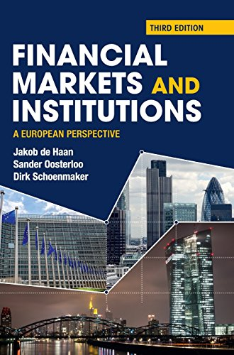 Financial Markets and Institutions: A European Perspective: De Haan, Jakob