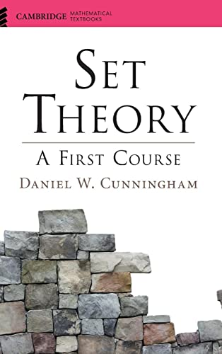 9781107120327: Set Theory: A First Course (Cambridge Mathematical Textbooks)