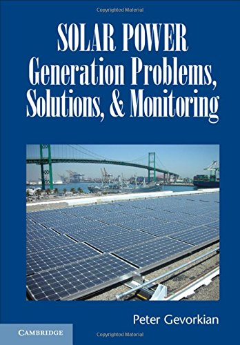9781107120372: Solar Power Generation Problems, Solutions, and Monitoring