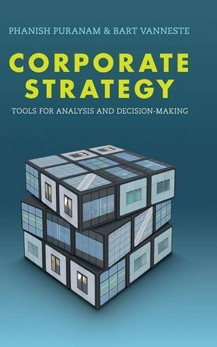 9781107120914: Corporate Strategy: Tools for Analysis and Decision-Making