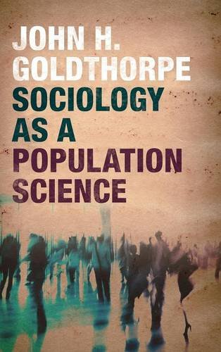 9781107127838: Sociology as a Population Science
