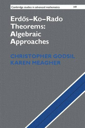 Erdos-Ko-Rado Theorems: Algebraic Approaches (Cambridge Studies in Advanced Mathematics): ...