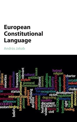9781107130784: European Constitutional Language