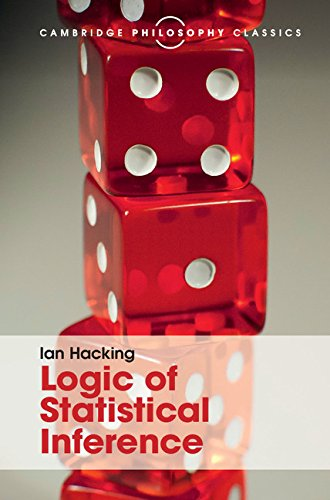 9781107144958: Logic of Statistical Inference (Cambridge Philosophy Classics)