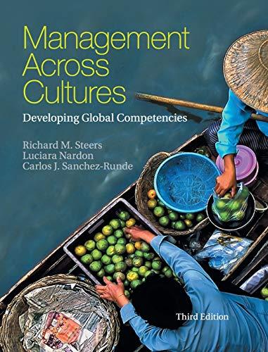 Management across Cultures: Developing Global Competencies: Sanchez-Runde, Carlos J.,