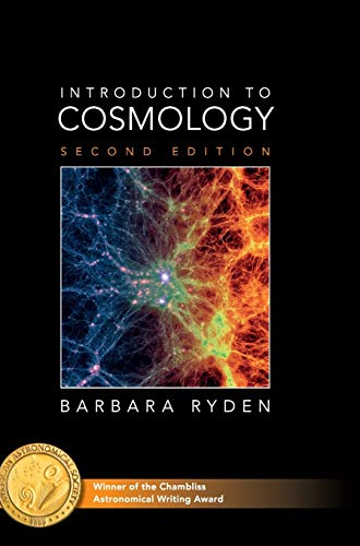 Introduction To Cosmology 2 Rev ed: Ryden, Barbara