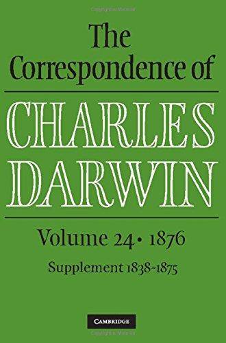 9781107180574: The Correspondence of Charles Darwin: Volume 24, 1876