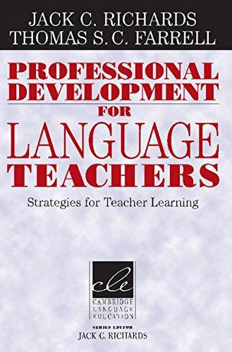 9781107400139: Professional Development for Language Teachers